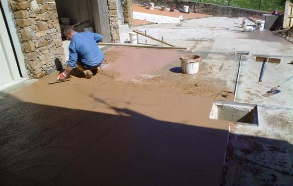 pavimenti in sasso lavato